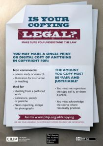 Image of the copyright poster